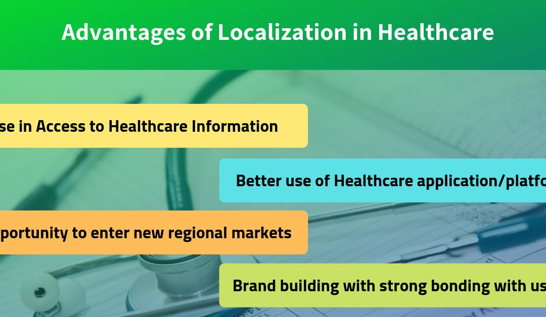 healthcare localization, healthcare website translation, healthcare app translation