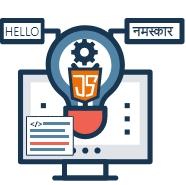 Javascript for website translation